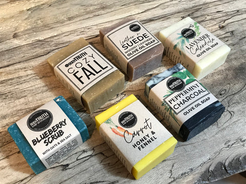 Compact Sized Soap Bars