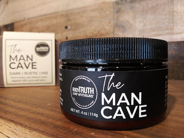 Shea butter for men - Tobacco, Patchouli & Amber