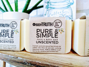 BODYTRUTH Soap Apothecary Castile Soap