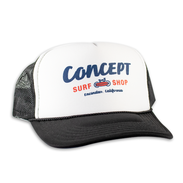 Concept Trucker Hat- Black