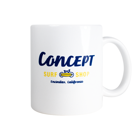 Concept Coffee Mug with Standard logo design