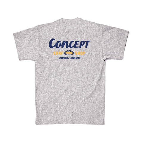 Concept Short Sleeve- Gray and Yellow