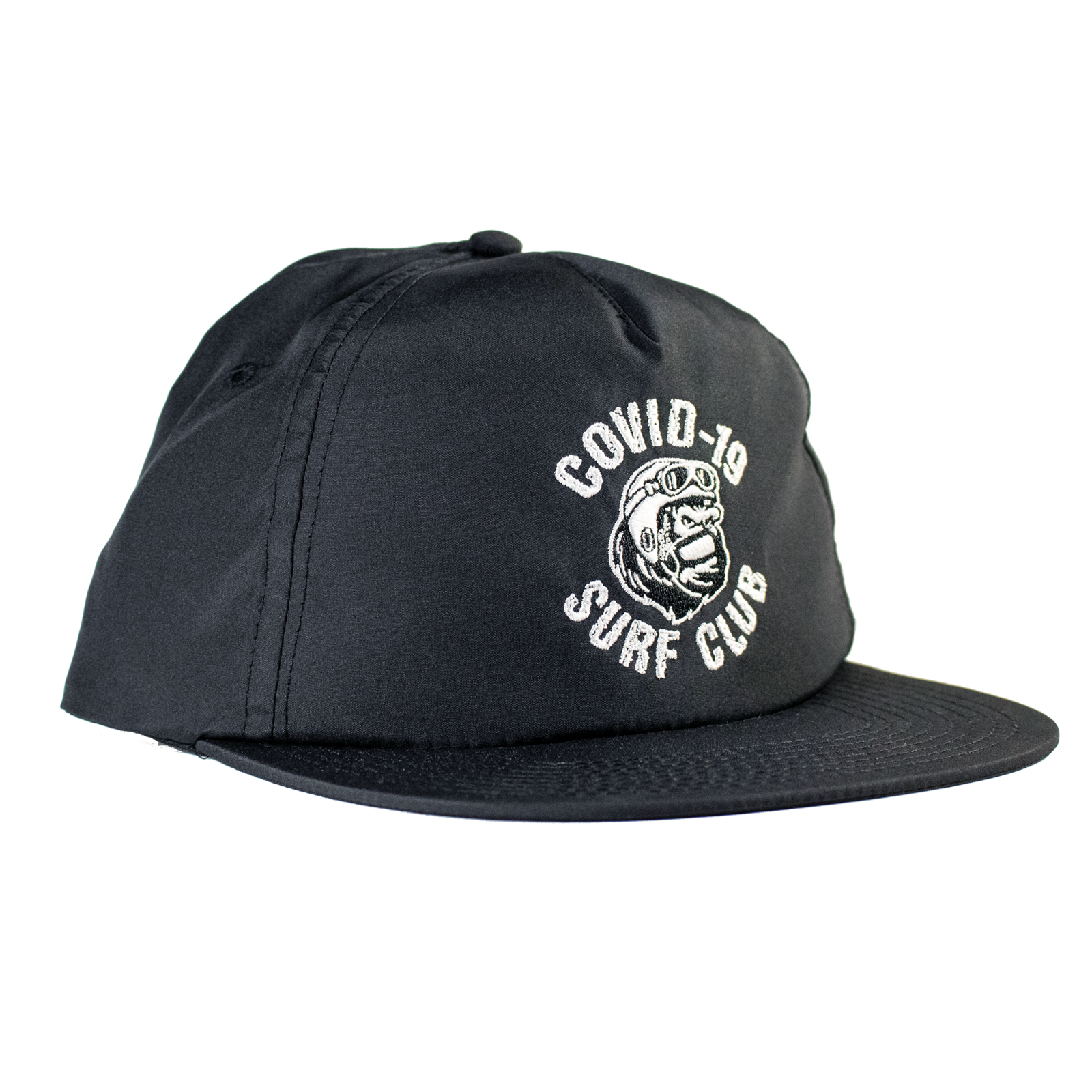 COVID-19 Surf Club - Black