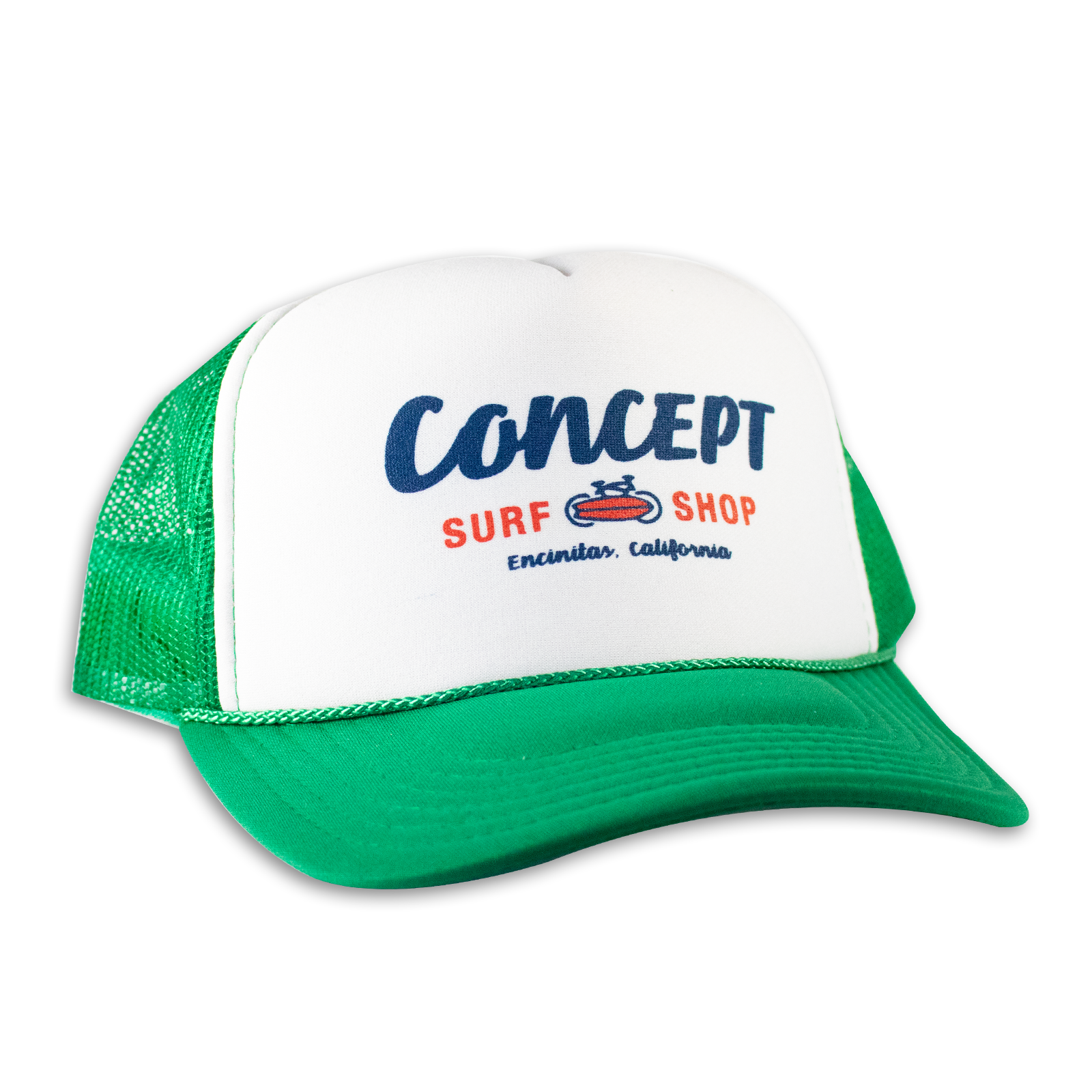 Concept Trucker Hat- Green