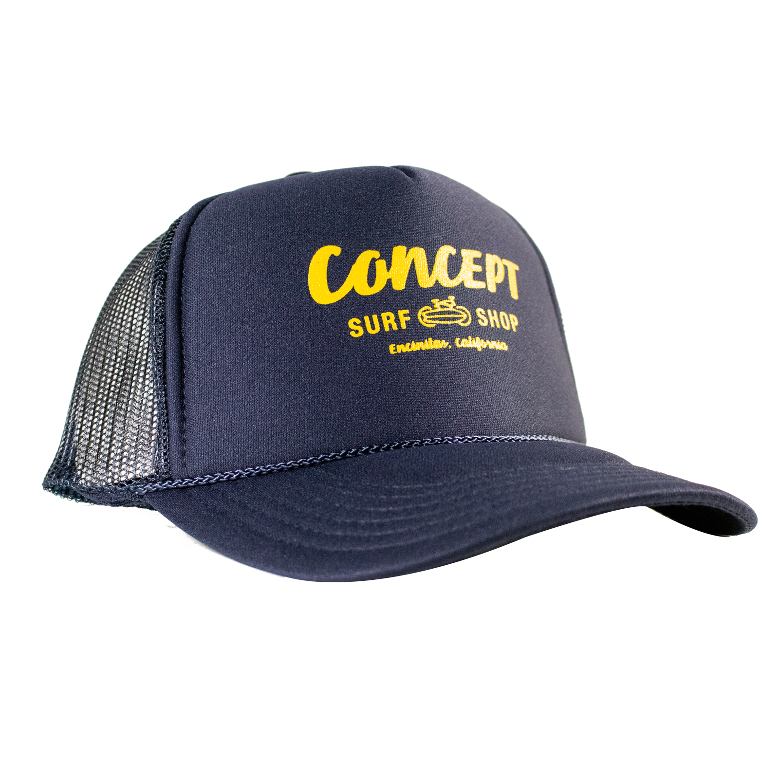 Concept Logo - Dark Blue with Yellow