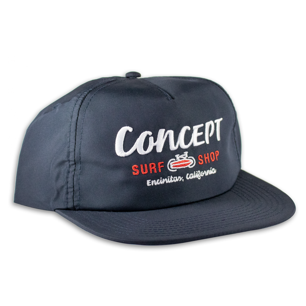 Concept Hat- Blue Flat-bill