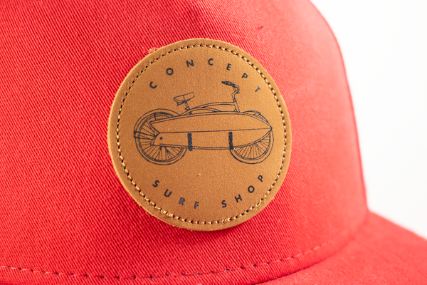 Concept Flat-bill Hat- Red