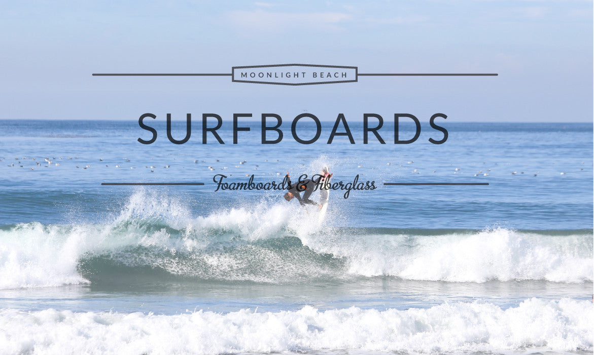 Surfboard Rental, Surf Lessons at Moonlight Beach, Encinitas, San Diego, California