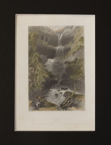 Catterskill Falls From Below
