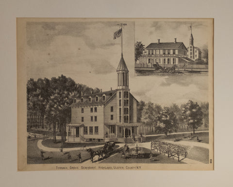 Terrace Grove Seminary, Highland, Ulster County, New York