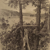 The Hudson at Hyde Park, New York