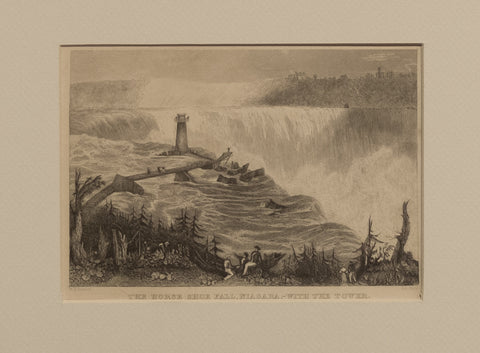 The Horse Shoe Fall, Niagara – with the Tower
