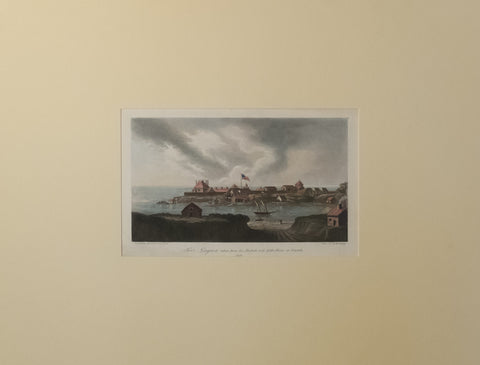 Fort Niagara from the British Side of the River at Newark 1814