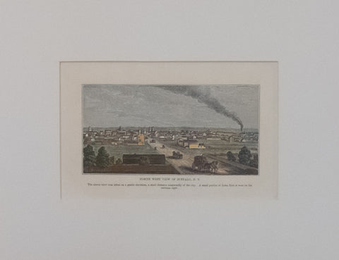 North West View of Buffalo, NY