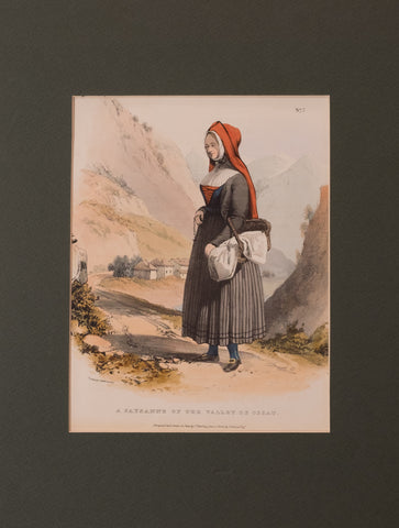 A Paysanne of the Valley of Ossau