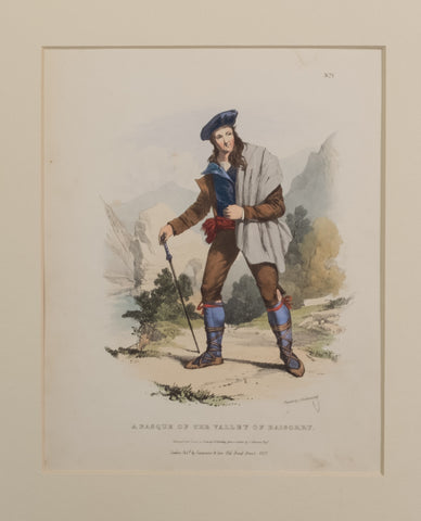 A Basque of the Valley of Baigorry