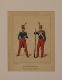 French Army 1830 – 1843: Infantry Officer and Soldier