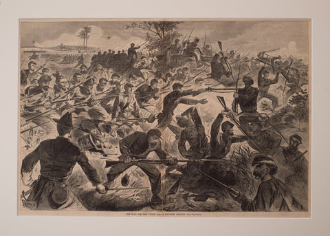 The War for the Union, 1862 – A Bayonet Charge