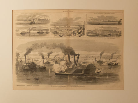 The Great Naval Battle before Memphis June 6, 1862