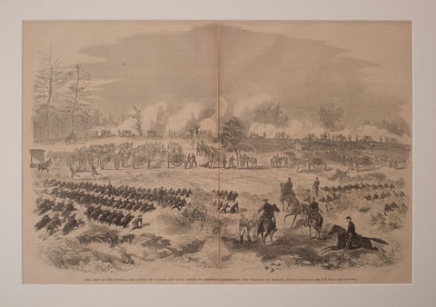 The Army of the Potomac – The Battle of Charles City Road  (Glendale) fought by Generals Heintzelman and Franklin June 30 1862