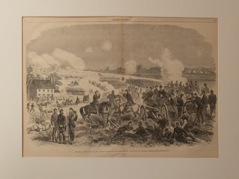 Gen. Sigel's Corps at the Second battle of Bull Run August 29,1862