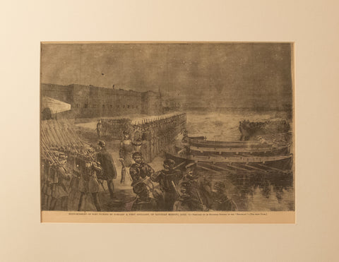 Reinforcement of Fort Pickens April 1862