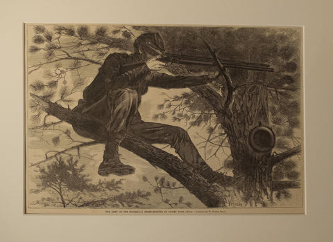 The Army of the Potomac – A Sharpshooter on Picket Duty