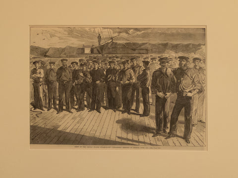 "Crew of the U.S. Steam Sloop ""Colorado"" shipped at Boston, June 1861"