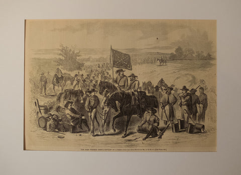 The First Virginia Cavalry at a Halt