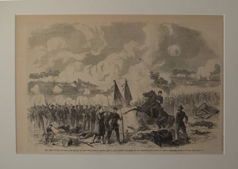 The Battle of the Chickahominy June 27, 1862 – Porter attacked by an overwhelming force of Rebels