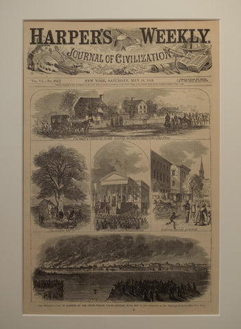 Reoocupation of Norfolk by the Union Forces, May 10, 1862