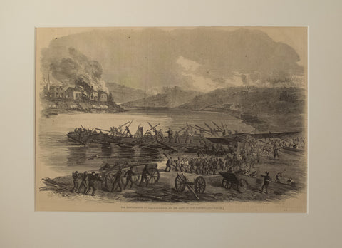 Bombardment of Fredericksburg by the Army of the Potomac