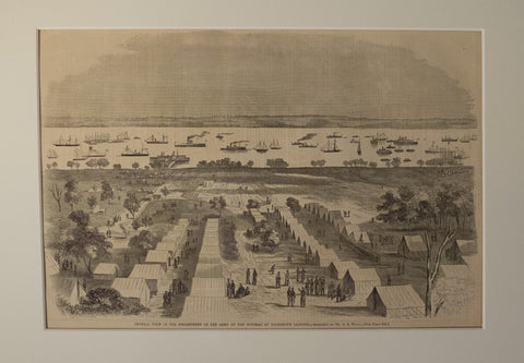 General View of the Encampment of the Army of the Potomac at Harrison's Landing