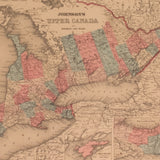 Upper and Lower Canada