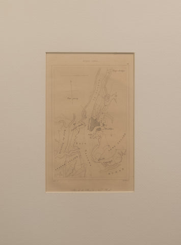 Plan de la Baie de New York