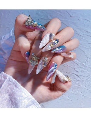 Stiletto Press-On Nails FN040