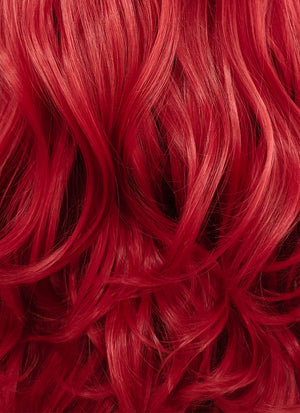 Wavy Red Lace Front Synthetic Wig LF085 - Wig Is Fashion