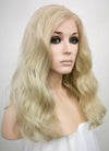 Light Ash Blonde Wavy Lace Front Synthetic Wig LF1263 - Wig Is Fashion