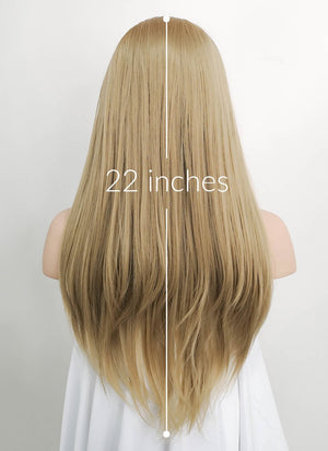 Blonde Straight Lace Front Synthetic Wig LF1739 - Wig Is Fashion