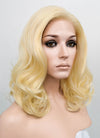 Golden Blonde Wavy Bob Lace Front Synthetic Wig LF206 - Wig Is Fashion