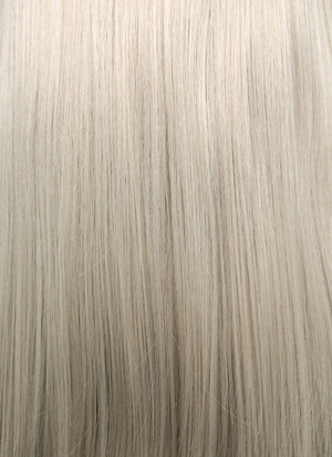 Pastel Grey Blonde Straight Lace Front Synthetic Wig LF238 - Wig Is Fashion