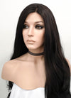 Wavy Natural Black Lace Front Synthetic Wig LF246 - Wig Is Fashion