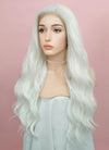 Wavy White Lace Front Synthetic Wig LF388 - Wig Is Fashion
