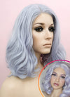 Pastel Lilac Wavy Lace Front Synthetic Wig LF771D - Wig Is Fashion