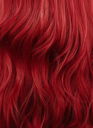 Wavy Red Lace Front Synthetic Wig LF809 - Wig Is Fashion