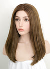 Brown Straight Lace Front Synthetic Wig LF870 - Wig Is Fashion