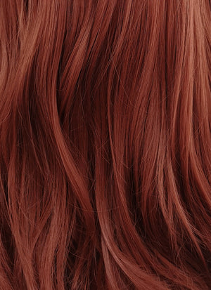 Auburn Wavy Lace Front Synthetic Wig LFB147 - Wig Is Fashion