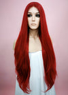 Straight Red Lace Front Synthetic Wig LW150C - Wig Is Fashion