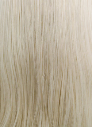 Straight Platinum Blonde Lace Wig CLW150D (Customisable) - Wig Is Fashion
