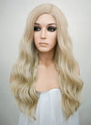 Ash Blonde Mono Parted Glueless Lace Wig MP003 - Wig Is Fashion